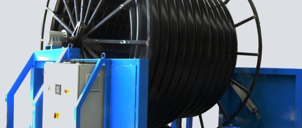 Cibermatic presenta su nuevo bobinador, Big Roll